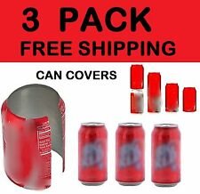 3 HIDE A BEER CAN COVERS SODA SLEEVES DISGUISE TAILGATE COVER CAMO WRAP