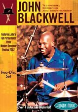 John Blackwell Technique Grooving and Showmanship Two-Disc Set New 000320349