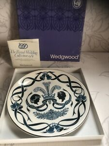 1981 Wedgwood Prince Charles & Lady Diana Spencer Hochzeit Platte,Richard Guyatt