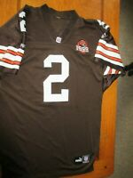 Tim Couch Authentic Cleveland Browns 1999 Throwback Jersey size 48 XL