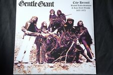 """Gentle Giant City Hermit British Radio Sessions '70-'72 12"""" vinyl LP New + Seale"""