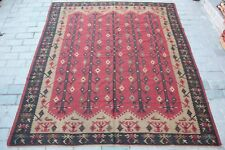 Old&fine Three of life design kilim,decorative kilim,Great room size kilim