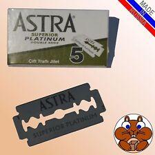 10x ASTRA Superior Platinum Rasierklingen double edge Sicherheitsrasierer Hobel