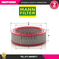 1 FILTRO ARIA MANN-FILTER C 2433//2 NISSAN RENAULT