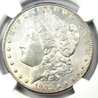1903-S Morgan Silver Dollar $1 - NGC Uncirculated Details - Rare in UNC / MS!