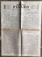 N141 La Une Du Journal Le Figaro 7 Mai 1931