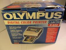 Olympus P-200 Passport Printer encore NEUF