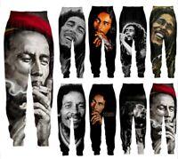 Reggae Bob Marley 3D Print Casual Pants Men Women Sweatpants Sport Jogging Pants