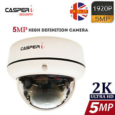 5.0MP Ultra HD 1920P CCTV Dome Camera Hybrid IR Wide Angle 30 Metres 3.6mm Lens