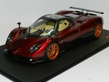 Top Speed Models 1/18 Pagani Zonda F Rosso Dubai MiB