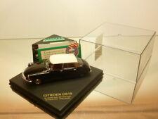 VITESSE CITROEN DS19 - TESTED by AUTOVISIE DEC'55 - BLACK 1:43 - GOOD IN BOX