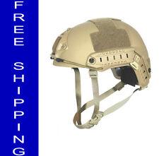 SkarrArmor® w/ Kevlar Ballistic Helmet Bulletproof Fragproof MICH-FAST Shipping!