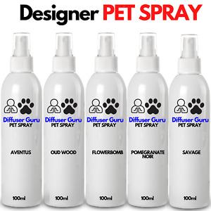 Professional Dog Horse Spray 100ml - Grooming Spray - Deodorant Pet Perfume