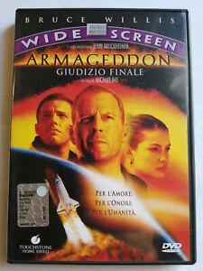 ARMAGEDDON GIUDIZIO FINALE DVD FILM Bruce Willis WIDESCREEN OTTIMO