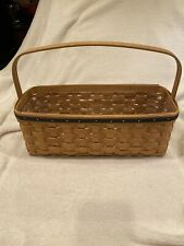 New ListingLongaberger Blue Ribbon Canning Jar Basket & Protector 2003 With Papers