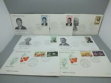 CHAD - Six Excellent First Day Covers May 1969 to April 1970 - All Perfect