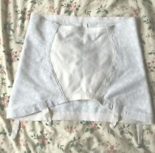 VINTAGE PLAYTEX 18 HOUR OPEN GIRDLE 4XL 37-38 ins SUSPENDERS RARE FIND