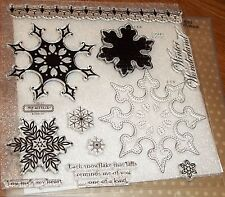 CTMH D1480 SNOWFLAKES ~Large Snowflakes, Each snowflakes that falls reminds me..