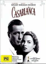 Casablanca DVD BRAND NEW SEALED Humphrey Bogart TOP 250 MOVIES Ingrid Bergman R4