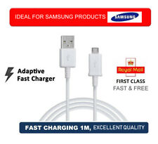 Micro USB Data Sync Cable Fast Charger Lead for Android Phones HTC LG Samsung