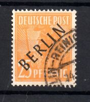 Germany Berlin 1948 25pf #B10 fine used CV £80 WS21872