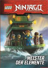 Fachbuch LEGO® Ninjago™ Meister der Elemente, 3 Geschichten, viele Bilder, NEU