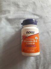 vitamina d-3 now foods 5000iu 240 capsulas