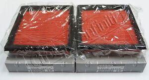 Infiniti Dual intake Air Filters G35 G37 G25 EX35 EX37 350Z 370Z New OEM