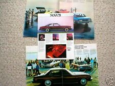 1975 Chevrolet NOVA Sales Brochure / Pamphlet / Flyer / Catalog