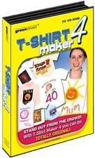 Greenstreet T-shirt Maker 4 - Design Create Print - PC  (Brand New)