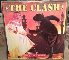 """The Clash Rock The Casbah 12"""" Single EP LP Punk Rock"""