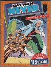 NATHAN NEVER N.1 AGENTE SPECIALE ALFA edizione A COLORI speciale IL SABATO  1992