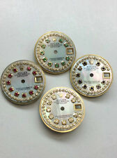Rolex Ladies DateJust QuickSet Or Nonquick White MOP String Diamond Dial 2-Tone