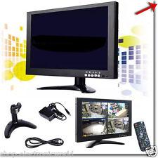 """MONITOR TELECAMERA 10"""" SCHERMO PER SISTEMA DI VIDEOSORVEGLIANZA,VGA/HDMI/BNC/USB"""