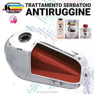 KIT Ripara Serbatoio Moto Proteggi Trattamento Ruggine protezione Piccolo Rosso