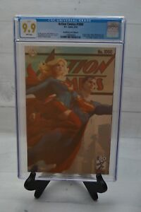 DC Action Comics 1000 CGC 9.9 Buy Me Toys Variant Cover edition B HIGHEST GRADED
