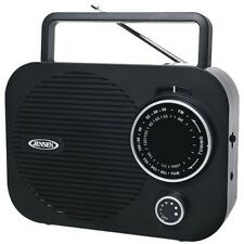 Jensen MR-550-BK Audio Portable Am/Fm Radio NEW