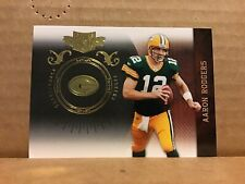 2010 Panini Plates and Patches Gold #34 Aaron Rodgers Green Bay Packers /50