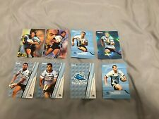 8 x CRONULLA SHARKS NRL AUSTRALIAN RUGBY LEAGUE CARDS MIXED BULK COLLECTION EXC