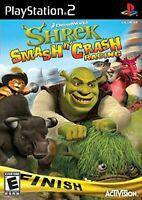Shrek Smash n' Crash Racing - Sony PlayStation 2 PS2