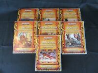 Educational DVD Lot Cultural Legacies of Ancient Civilization 7-12 gr Homeschool