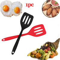 Nonstick Egg Fish Frying Pan Scoop Silicone Fried Shovel Spatula Cooking Tool