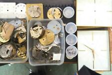 Watchmakers Parts Watch Swiss Watch Parts Swiza and other job lot cases & dials