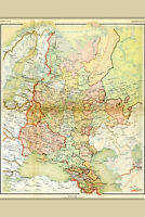 Map of Soviet Union; Map of USSR; Antique Map, 1928
