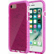 Tech21 iPhone 8 & 7 Evo Check Active Edition Silicone Rubber Gel Case Cover Pink