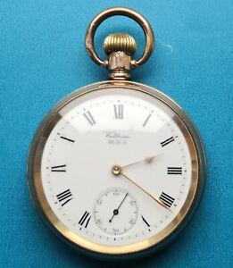 Gold Plated Waltham Pocket Watch circa 1904