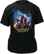 Marvel Guardians of the Galaxy Movie Poster Adult T-Shirt - Officially Licensed