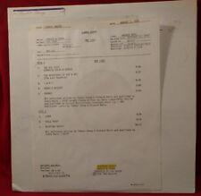 Cheech and Chong Sleeping Beauty Test Pressing BSK 3254 Warner USA