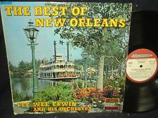 """Pee Wee Erwin and His Orchestra """"The Best of New Orleans"""" LP France Import"""