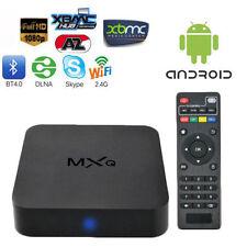 TV BOX MXQ DTT SMART ANDROID INTERNET TV FULLHD WIFI 4XCPU 4XGPU MEDIA PLAYER
